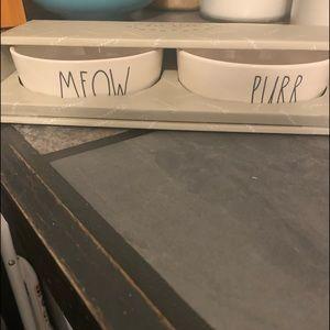 Rae Dunn cat bowls NWT